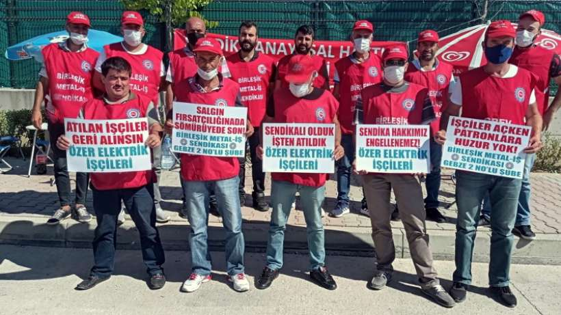 Özer Elektrik işçilerinin direnişi 17. gününde