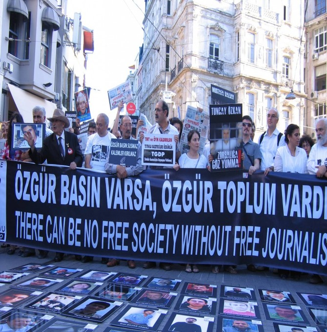 RSF'den 2019 Basın Özgürlüğü Endeksi: Türkiye basın özgürlüğünde 157'inci sırada