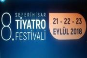 Seferhisar Belediyesinin 8. Seferihisar tiyatro festivali başlıyor