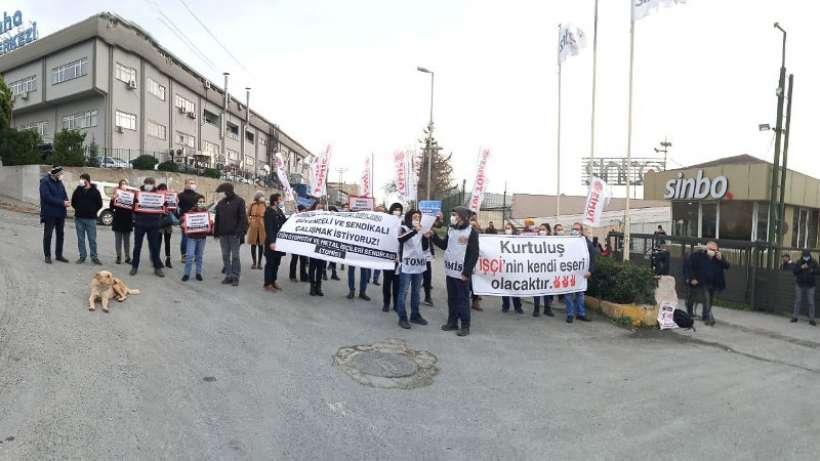 Sinbo işçisi Kod 29'la işten çıkarıldı: Fabrika önünde direniş çadırı kurulacak