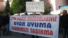 Uyar Madencilik işçileri, 5 Ekim'de Ankara'ya yürüyecek