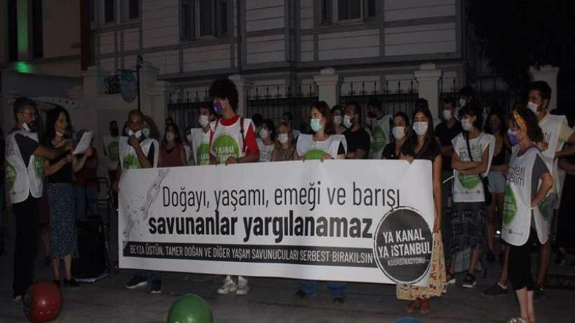 Ya Kanal Ya İstanbul Koordinasyonu: Arkadaşlarımız derhal serbest bırakılsın