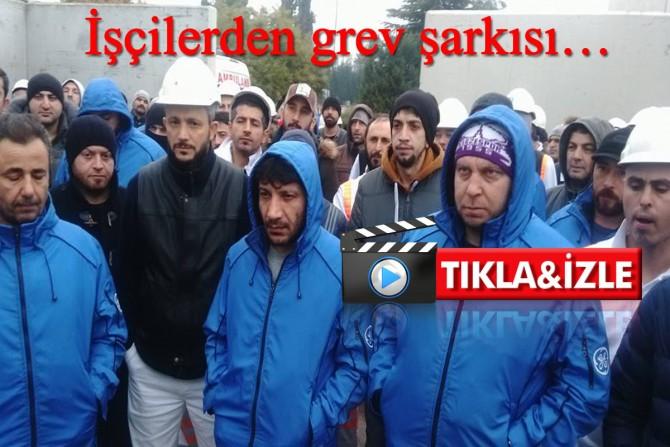 Gebze Alstom ve Samandra Schneider işçileri de greve evet dedi