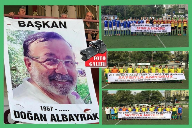 Spor kulüplerinden Başkan Doğan Albayrak'a vefa
