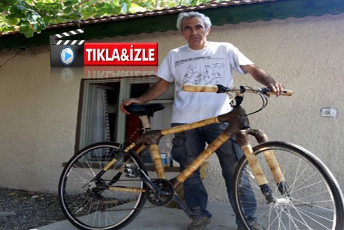 Ülkemizde bir ilk Bambu'dan ekolojik  bisiklet üretiyor