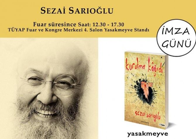 Yazar-Şair Sezai Sarıoğlu okuyucuyla buluşuyor