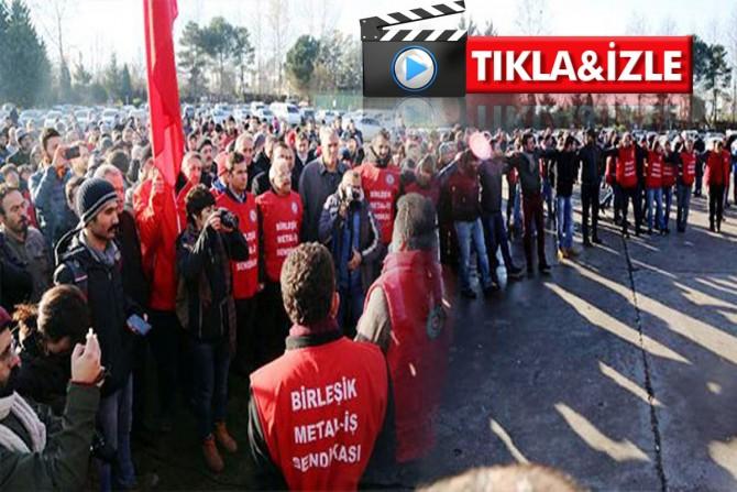 İzmit Bekaert fabrikasında grev kararı