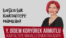Bakırköy Kartaltepe mahallesi  kadın muhtar adayından manifestolu kampanya...