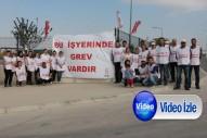 Ferrero işçileri 30 gündür grevde
