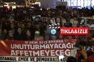 Kadıköy'de büyük kalabalık katliamı lanetledi