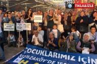 Kızılcaköy'de köylüler jeotermal'e karşı 75 gündür nöbet eyleminde